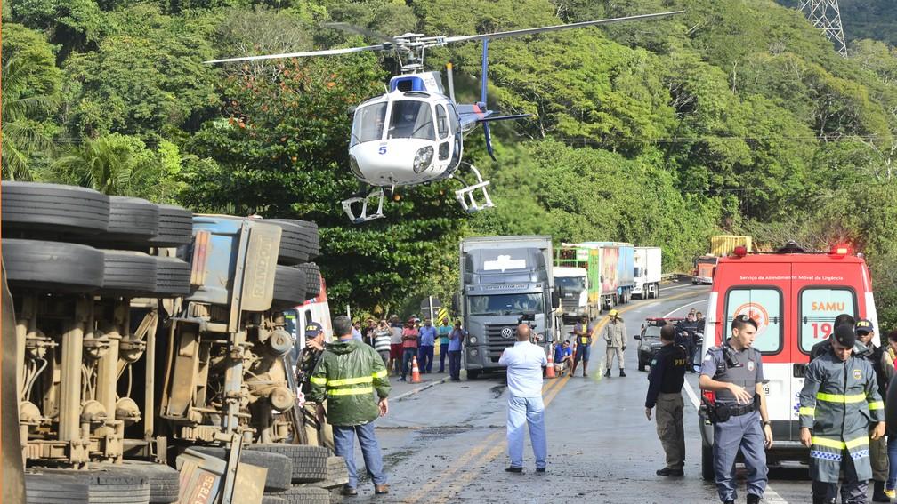 Acidente em Guarapari foi maior tragédia rodoviária do Espírito Santo (Foto: Bernardo Coutinho/ A Gazeta)