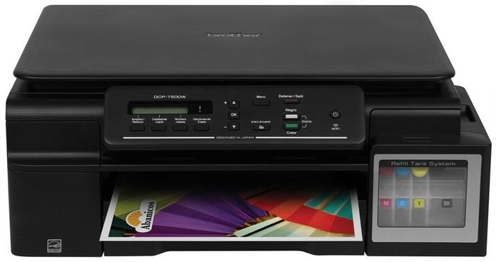 A Inktank DCP-T500W também ser como scanner e copiadora (Foto: Divulgação/Brother)