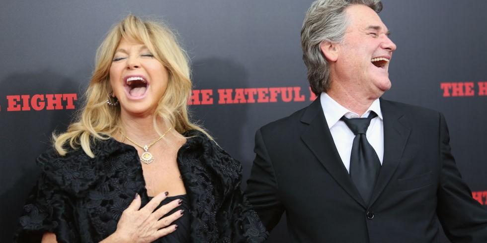 Goldie Hawn e Kurt Russell (Foto: Divulgação)