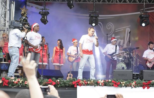 Som de Natal RPC  (Foto: Luiz Renato Correa/RPC)