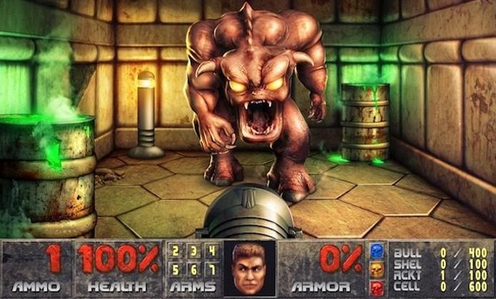 Clássica série Doom tem uma grande história de conflitos infernais (Foto: metro.co.uk)