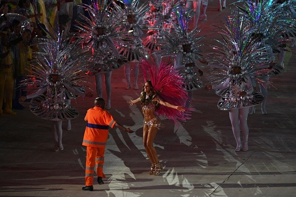 Iza Goulart (Foto: Getty Images)