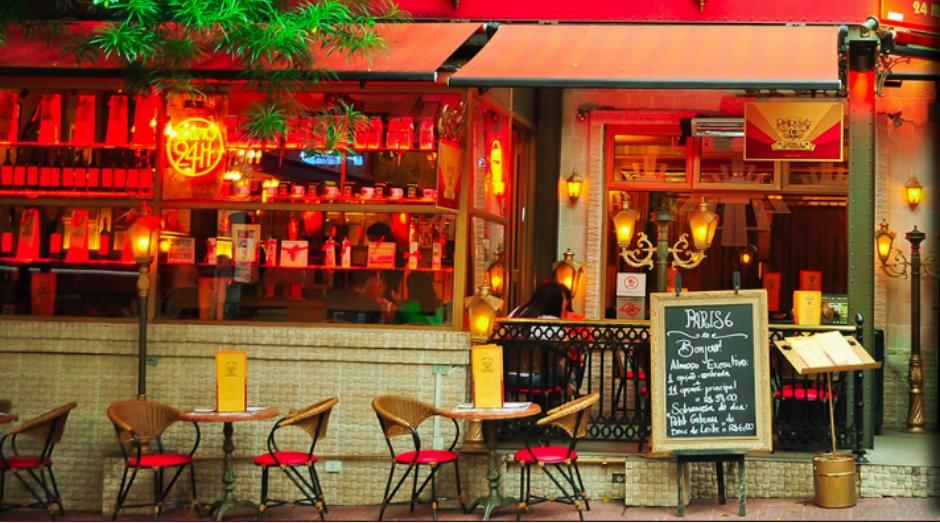 Fachada do Paris 6, restaurante localizado em São Paulo (Foto: Divulgação)