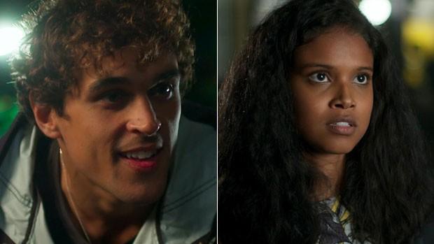 Malhação: Gabriel e Joana se reencontram nesta terça (TV Globo)