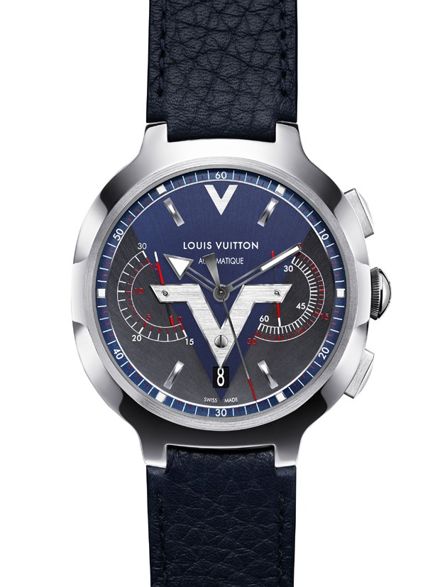 O Voyager Chronographer da Louis Vuitton (Foto: Divulgação)
