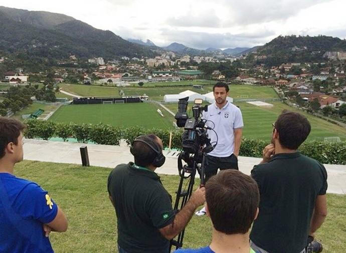 fred seleção brasileira  (Foto: Reprodução/CBF)