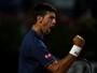 Com direito a pneu, Djokovic atropela Thiem e luta pelo penta em Roma