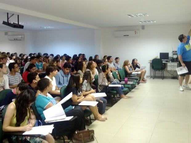 Aulão solidário em Petrolina (Foto: Hermiete Saraiva/Arquivo pessoal)