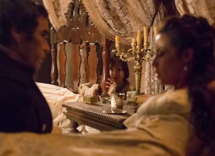 Caju escuta conversa reveladora entre Joaquina e André