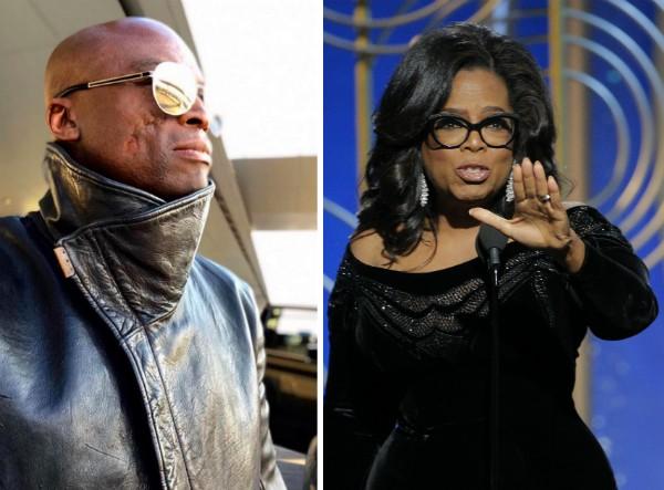 O músico Seal e apresentadora Oprah Winfrey (Foto: Getty Images)