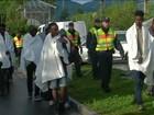 Flagrantes mostram desespero de imigrantes para chegar à Europa
