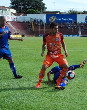 Sertãozinho São Caetano (Foto: Vinicius Alves / Sertãozinho FC)
