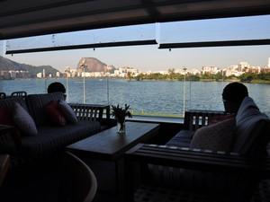 Espaço Lagoon reúne restaurantes e bares à beira da Lagoa (Foto: Alexandre Macieira/Riotur)