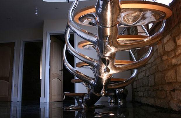 Ideias de escadas (Foto: Philip Watts / Divulgação)