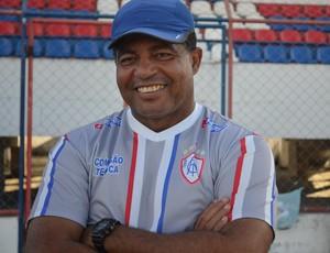 Laelson Lopes diz que time tem que fazer lição de casa (Foto: Felipe Martins/GLOBOESPORTE.COM)