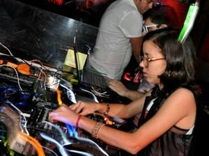 DJ Luana Aleixo foi atração na primeira edição e será de novo na segunda (Foto: Isadora Bessa)