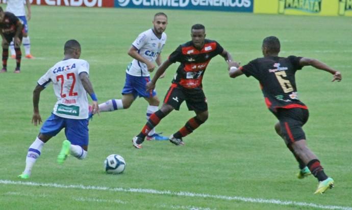 Moto e Bahia jogam no Castelão (MA) pela Copa do Nordeste (Foto: Biné Morais/O Estado)