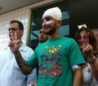 RJ: atacado por ajudar mendigo 'faria de novo' (Carolina Lauriano/ G1)