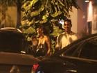'Não falo sobre isso', diz Maria Clara Salgado após beijar ex de Cleo Pires