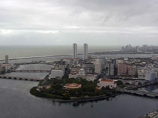 imagem do Recife dianublado
