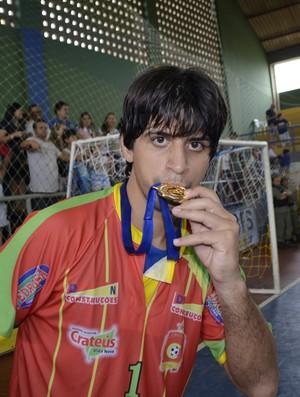 Lambão Cratéus Taça Brasil de Futsal (Foto: Otonny Stayler/CBFS)