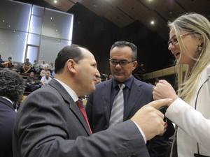 Deputados discutiram mínimo (Foto: Marcelo Bertani, divulgação/ALRS)