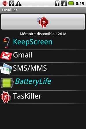 taskiller for android