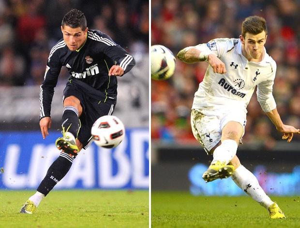 Cristiano Ronaldo e Bale (Foto: Getty Images)