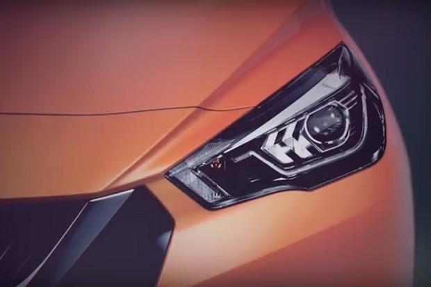 Nissan antecipa detalhes do novo March (Foto: Reprodução)