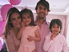 Carol Celico e Kaká comemoram os 3 anos da filha