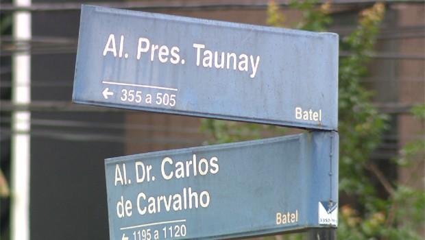Paraná TV traz informações sobre a madrugada violenta, em Curitiba  (Foto: Reprodução/RPC)