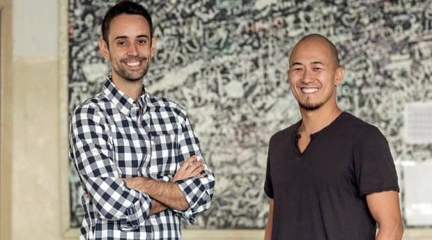 Claudio Sassaki e Eduardo Bontempo, criadores da Geekie (Foto: Endeavor/Reprodução)