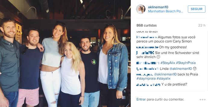 Praia Clube, Alix, campanha, Instagram (Foto: Reprodução/Instagram)