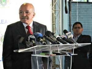 José Melo comentou crise hídrica do Sudeste do país (Foto: Adneison Severiano/G1 AM)