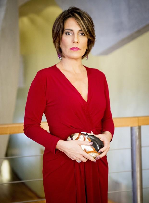 Inicialmente, Beatriz (Gloria Pires) seria uma ninfomaníaca na novela Babilônia (Foto: Globo/João Miguel Júnior)