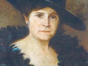 "Maria Pardos ""Auto retrato"" 1918  (Foto: Museu Mariano Procópio/ Arquivo)"