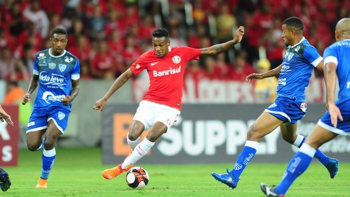 Inter x Cruzeiro-RS Beira-Rio Gauchão Edenílson (Foto: Ricardo Duarte / Internacional/ Divulgação)