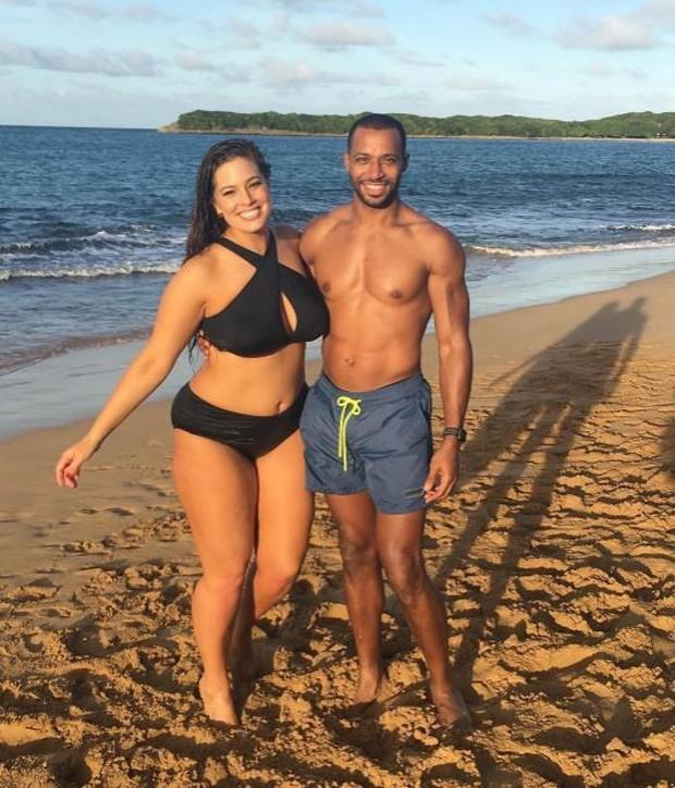 Ashley com o marido (Foto: Reprodução/ Instagram)