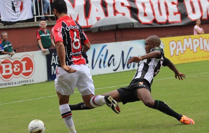 Joinville x Figueirense final (Foto: José Carlos Fornér/JEC)