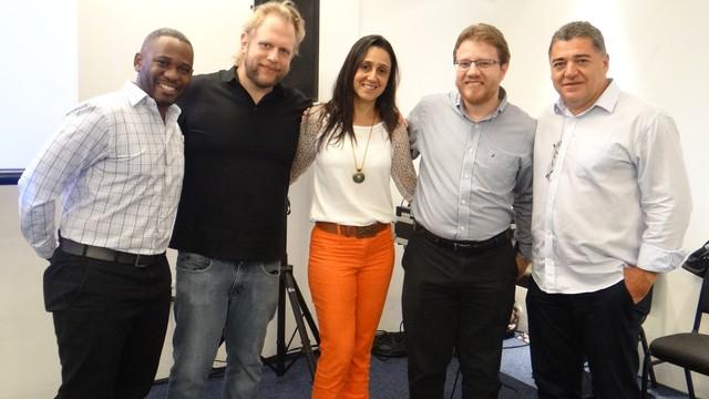Batepapo.com: Bate papo com a equipe de Internet da Rede Globo (Foto: Fernanda Maciel)