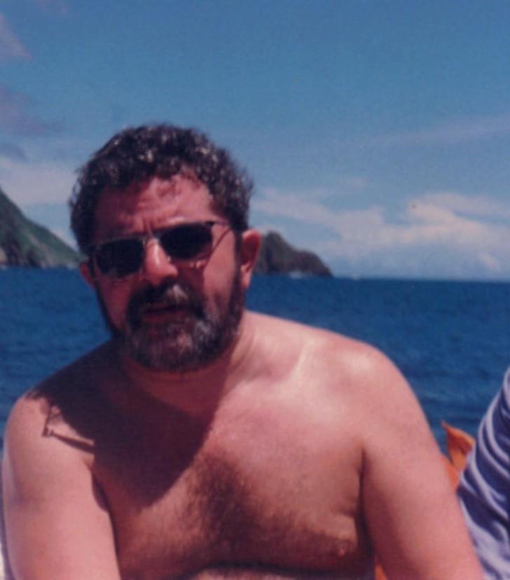 Lula em Noronha 1995