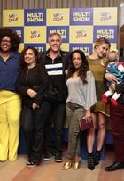 Pré-estreia da quarta temporada de 'Vai Que Cola' reúne famosos no Rio