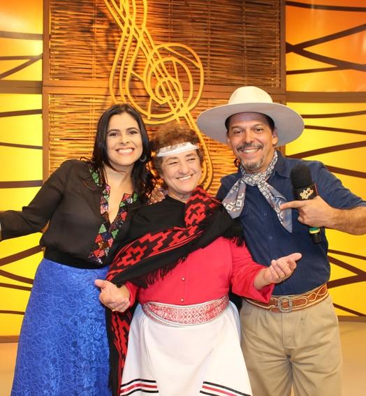 arraiá gaudério (RBS TV/Divulgação)