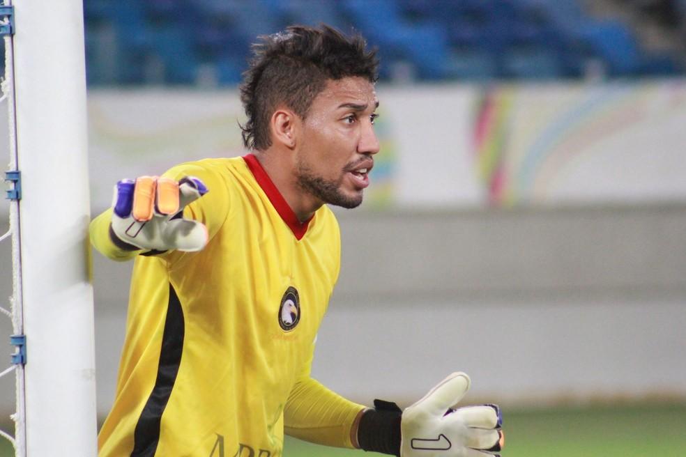 Rafael permanece no Globo FC para a Série D do Brasileirão (Foto: Fabiano de Oliveira/GloboEsporte.com)