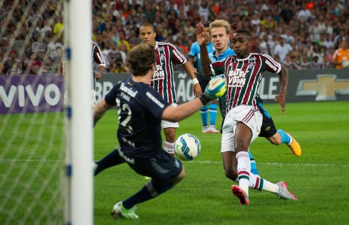 Gerson Fluminense x Grêmio (Foto: Bruno Haddad / Fluminense FC)