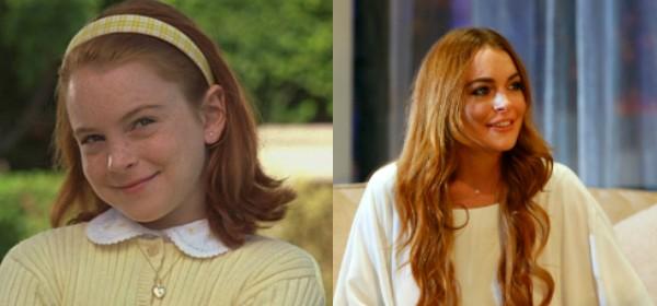 Adorada pelo público quando criança, Lindsay Lohan perdeu o rumo (Foto: Getty Images)