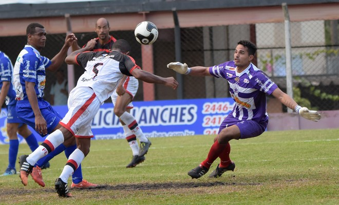 Marcelo Henrique, goleiro, Arthur Flamengo-SP x Matonense (Foto: Rodrigo Corsi / FPF)