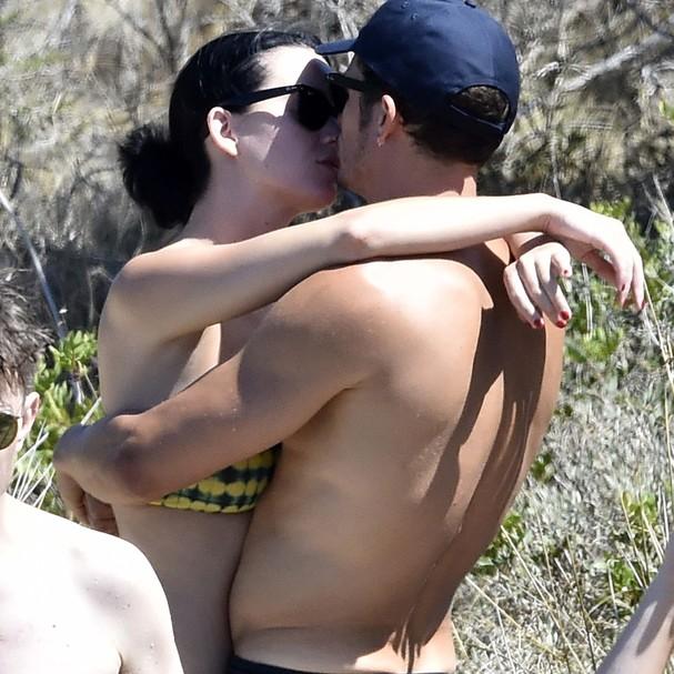 Katy Perry e Orlando Bloom (Foto: AKM-GSI)