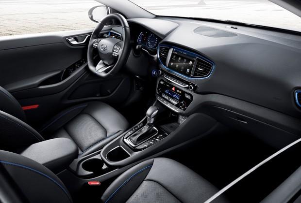 Interior do Hyundai Ioniq (Foto: Divulgação)