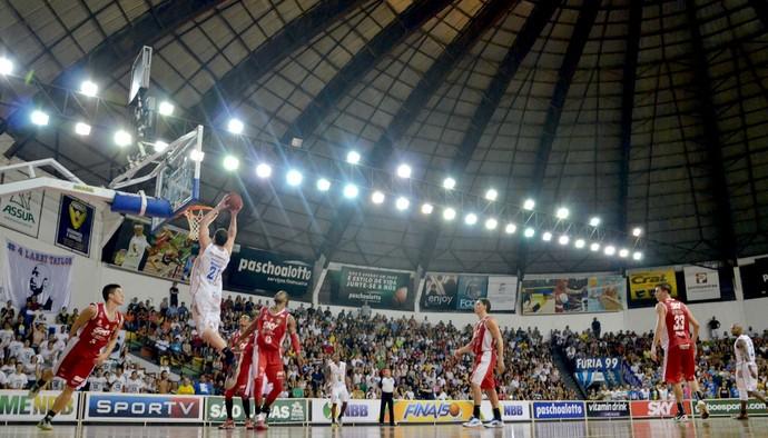 Bauru Basquete x Basquete Cearense, pelas oitavas do NBB 6 (Foto: Caio Casagrande / Bauru Basket)